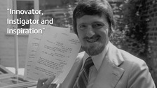 Jimmy Hill: Remembering a football legend
