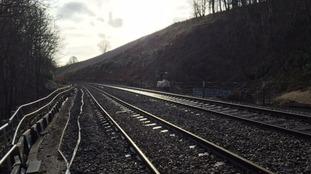 Landslip at Appleby