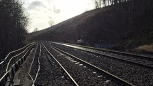 Carlisle-Settle rail line closed due to landslip