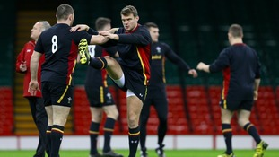 Wales ramps up preparations ahead of Saturday's clash with Scotland
