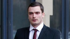 Adam Johnson 'knew young fan was underage'
