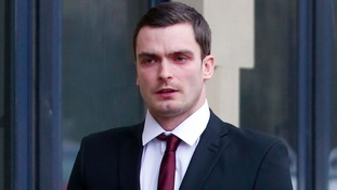 Adam Johnson stands trial on two child sex charges