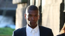 Former Premier League footballer Marcus Bent arriving at court in January