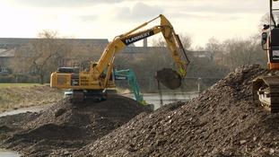 Dredging of the River Kent begins in Kendal