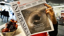 Independent ceases print edition after 30 years