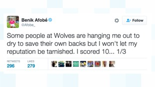 Benik Afobe hits back over claims by Wolves