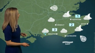 Philippa has the weekend outlook for the east