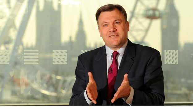 Shadow Chancellor Ed Balls speaking earlier this year