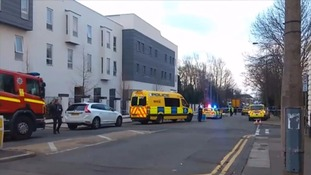 Eight children hit by car outside school in Liverpool