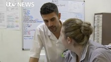 European nurses arrive in England to fill staff shortages