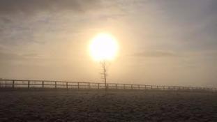 Dawn in Suffolk