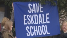 Save Eskdale school banner