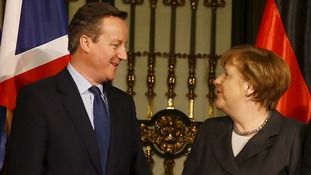 Merkel backs Cameron's EU reforms, saying 'Europe as a whole' can benefit
