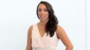 Beth Tweddle walking unaided following 'The Jump' neck injury