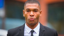 Former Premier League footballer Marcus Bent arrives at Guildford Magistrates' Court, Surrey.