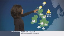 Weather: Cold with cloudy skies