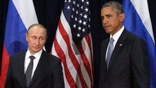 Putin and Obama hold phone talks to discuss Syria conflict resolution