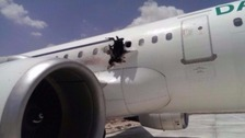 Officials said the bomb was intended to kill all those on board the plane.