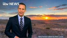 Your ITV Meridian weekend weather