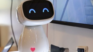 An artificial intelligent robot developed by Baidu