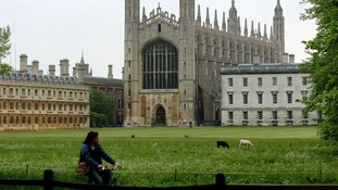 Cambridge ranked second in the world
