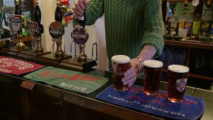 "Pub landlord says ""dry January"" harming health of his business"