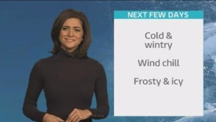 Weather: Cosy up from the chill this Valentine's Day