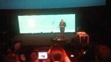 Boris Johnson at the 4G network launch