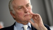 Church defends 'prayers' tweet to author Richard Dawkins