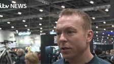 Sir Chris Hoy speaks out on cycle safety in the capital