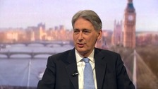 Hammond: 'Lot of moving parts' in EU renegotiation deal