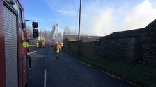 People in Stainburn and Workington told there is no longer any need to take precautions following barn fire