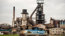 Tata's plant in Port Talbot