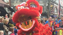 Chinese New Year celebrations begin in style