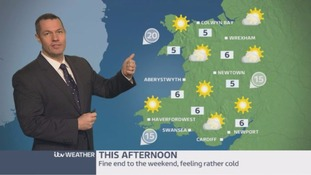 Wales Weather: Fine end to the weekend but feeling cold