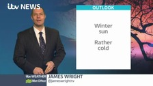 Midlands Weather: Wintry showers by end of the day