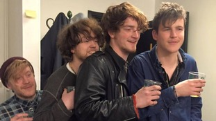 Psykofant posted this picture of Viola Beach to their Facebook page