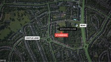 Three teenagers stabbed in Solihull