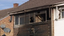 Man dies after house fire in Derbyshire