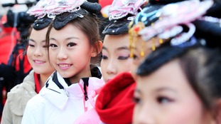 In pictures: Chinese New Year celebrated in style