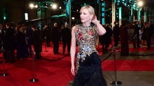 Stars arrive for Bafta awards ceremony