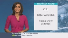 Temperatures plunge for bitterly cold start to week