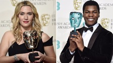 Stars pick up awards as the Baftas ceremony gets underway