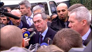 France's Interior Minister Claude Gueant speaks to the media after the assault to capture gunman Mohamed Merah