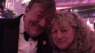 Bafta host Stephen Fry leaves Twitter after calling costume designer Jenny Beavan a 'bag lady'