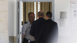 Olmert entered Maasiyahu prison near Ramle, south of Tel Aviv, after arriving in a motorcade protected by bodyguards assigned to former leaders.
