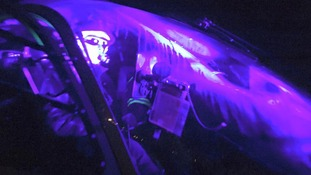 Laser dangers: What happens when a light is beamed at a pilot?