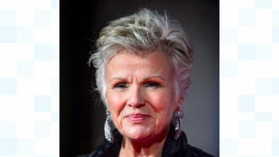 Julie Walters at BAFTA's last night.