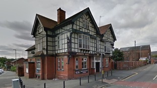 Man and 16-year-old boy assaulted after raiders broke into pub and took off with cash