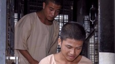 Thai trial defendants